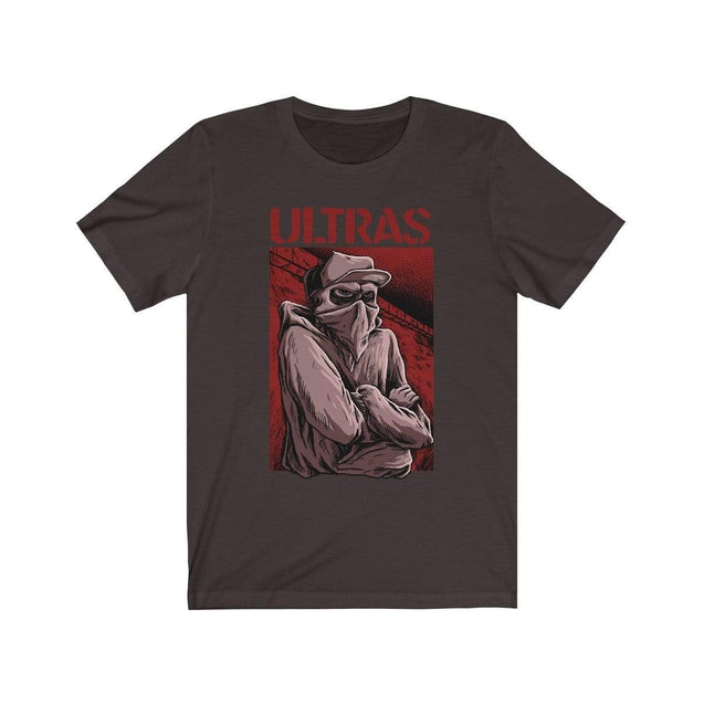 ULTRAS suppoter T-Shirt Chocolate/Brown / S  - VPI Shop