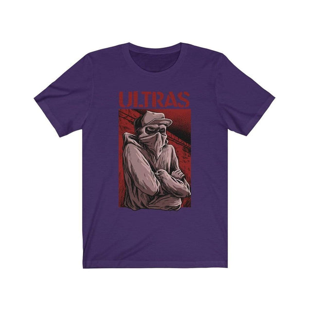 ULTRAS suppoter T-Shirt Team Purple / S  - VPI Shop