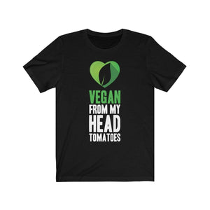 Vegan Funny T-Shirt Black / L  - VPI Shop