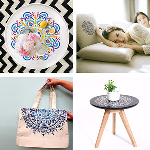 【BUY 2 FREE SHIPPING】Reusable Art Painting Stencils (Set of 4)