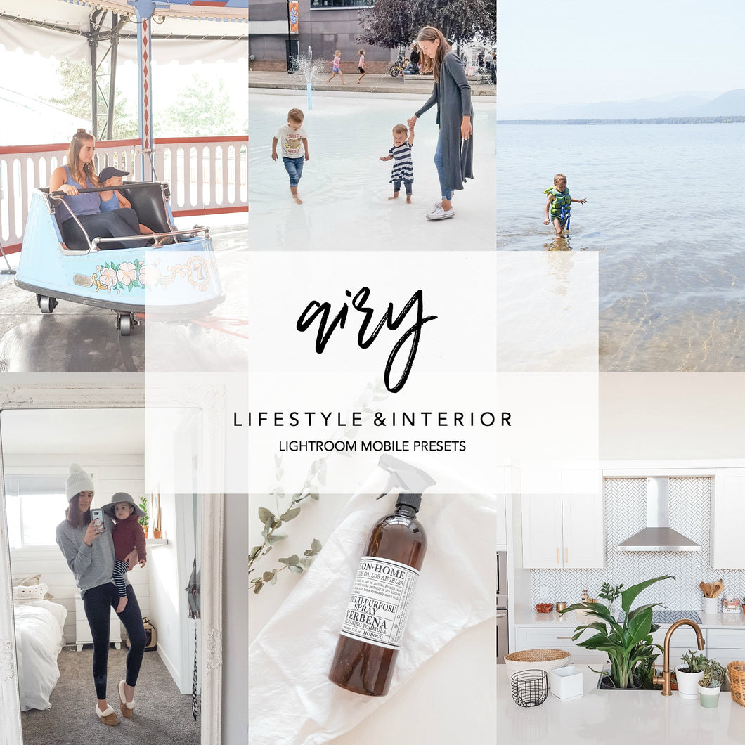 AIRY Mobile Lightroom Preset