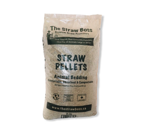 Straw Pelleted in Bags