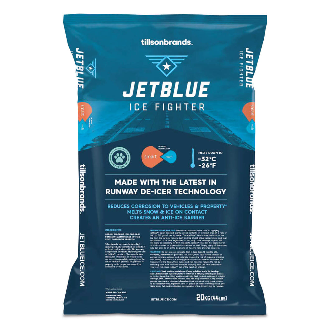 Ice Salt, Jet Blue Ice Melter 20 Kg