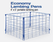 Lambing Panel, Economy Wire Mesh 5' EACH
