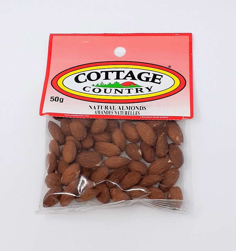 Cottage Country Natural Almonds