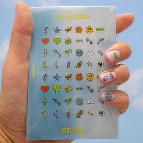 VOTE NAIL DECAL