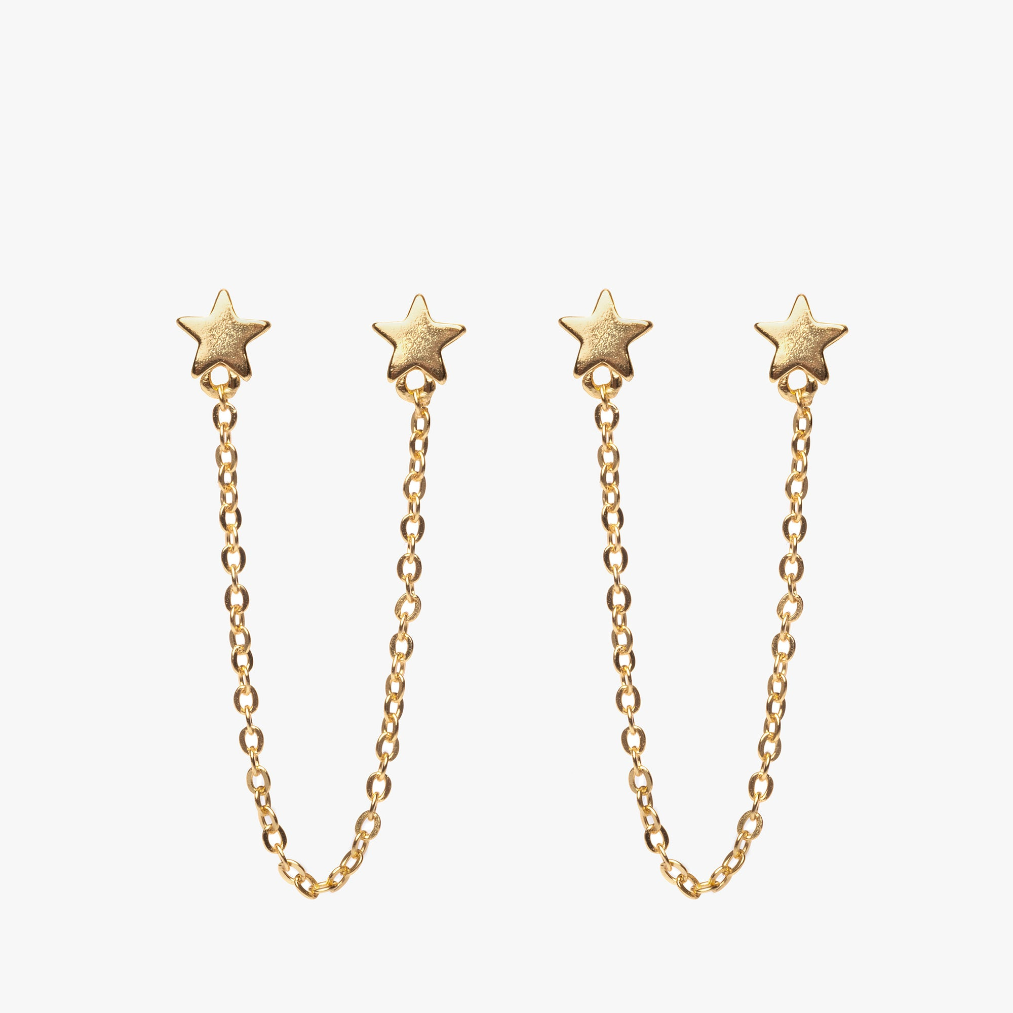 Double Star Stud Chain