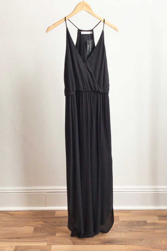 Gisele Maxi Dress - Black (Size L)