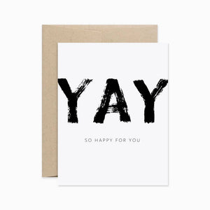 Card - Yay So Happy For You