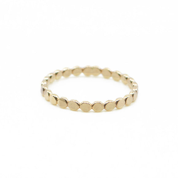 Coin Stacking Ring - Gold