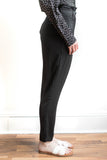 Jolie High Waist Pants - Black