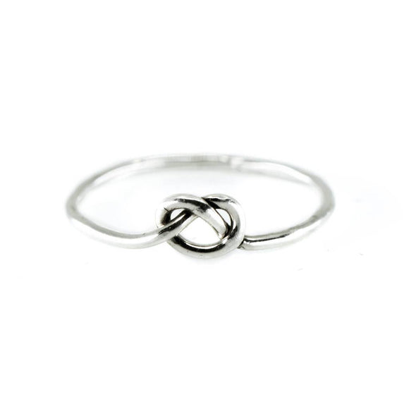 Love Knot Ring - Silver or Gold