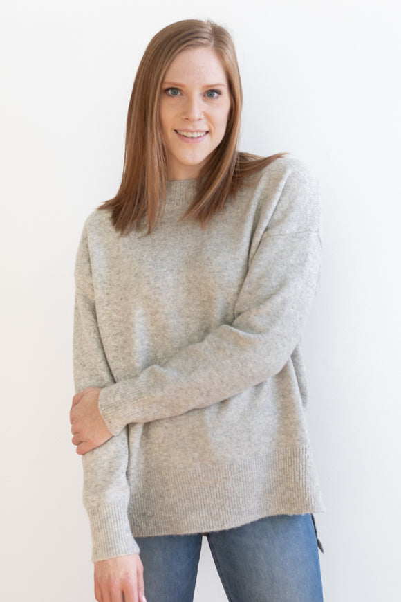 Noah Sweater - Heather Gray - FINAL SALE