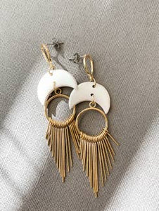 Ray Dangle Earrings