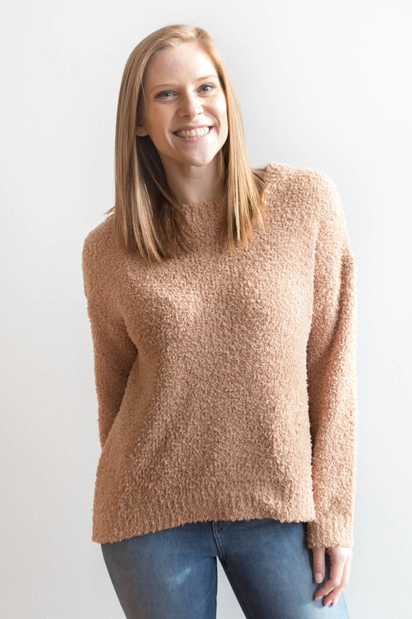Rocelyn Sweater - Tan Brown