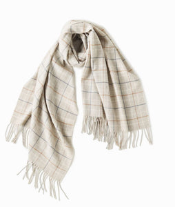 Scarf - Windowpane - Multiple Colors