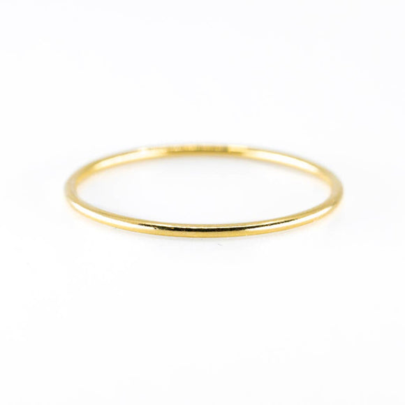 Smooth Stacking Ring - Gold or Silver
