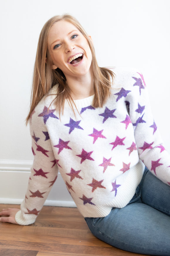 Seema Star Sweater