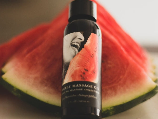 Juicy Watermelon Scented Body Massage Oil
