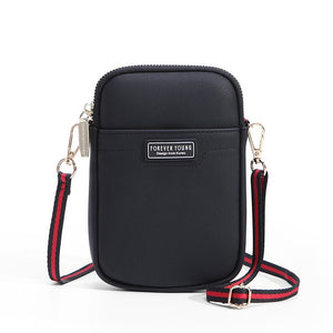 """Forever Young"" Shoulder Soft Leather Bag"