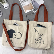 Load image into Gallery viewer, 'Cartoony' tote bags