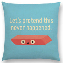 Load image into Gallery viewer, Funny Decorative Pillow Case