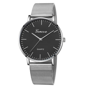 Modern Stainless Steel Watch