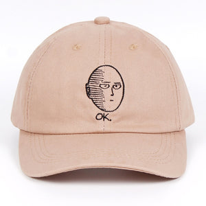 One Punch Man funny hat