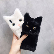Load image into Gallery viewer, Cat IPhone Fluffy Case