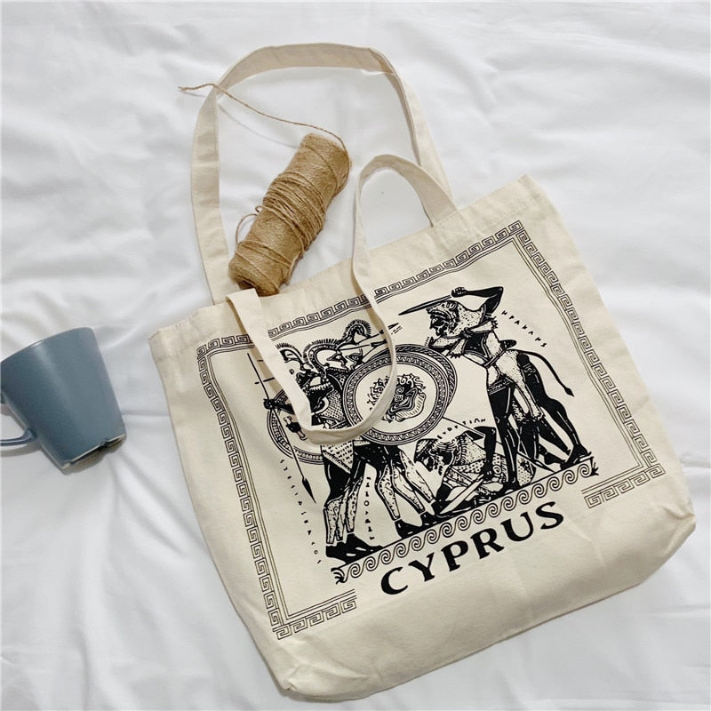 'Cyprus' Greek Tote bag