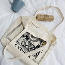 Load image into Gallery viewer, 'Cyprus' Greek Tote bag