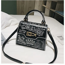 Load image into Gallery viewer, AMORE Graffiti Cross Body Bag