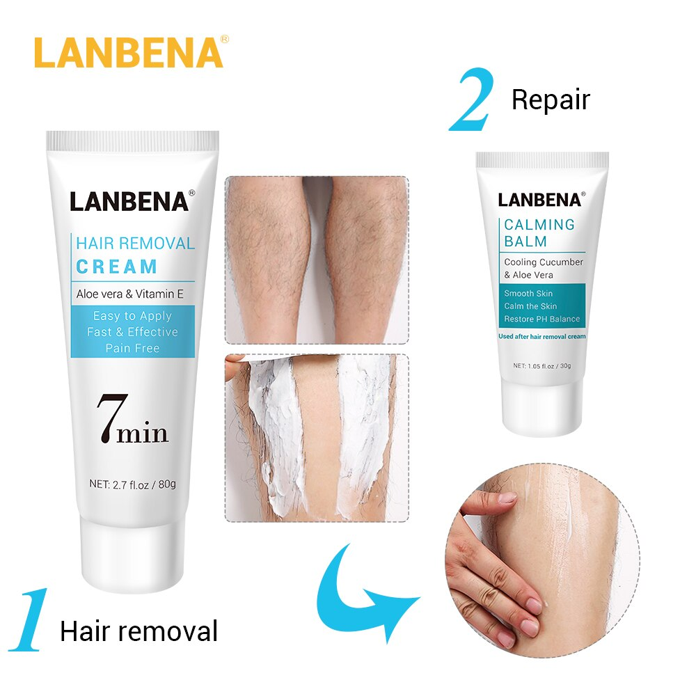 Lanbena Hair Removal Cream Painless Removal Lanbena Official