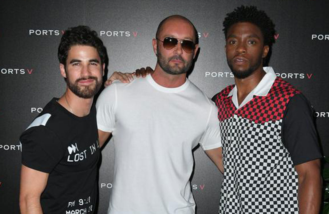 #CoolSummer dinner hosted by Chadwick Boseman and Milan Vukmirovic