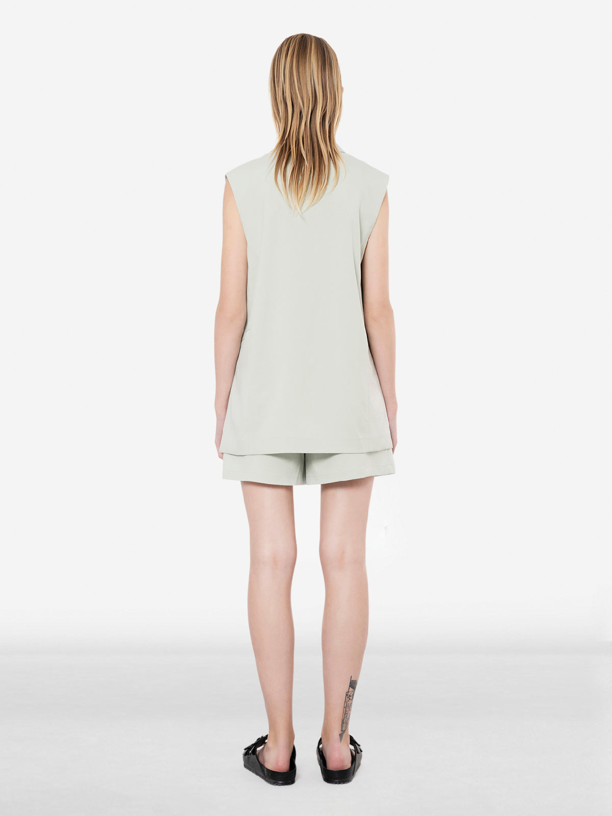 Single Pleat Front Shorts
