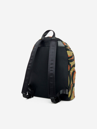 Artistic abstract camouflage backpack