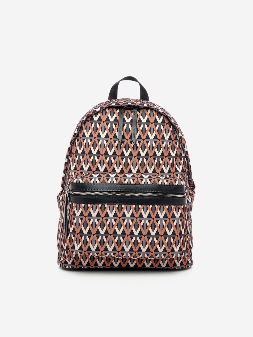 Electric monogram V logo backpack