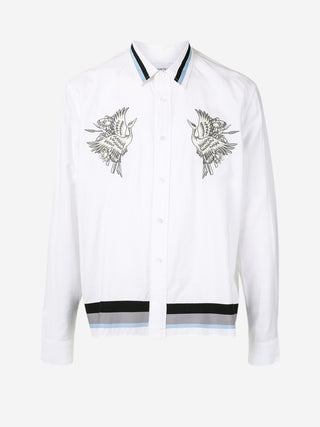 Flying Phoenix sporty stripe shirt