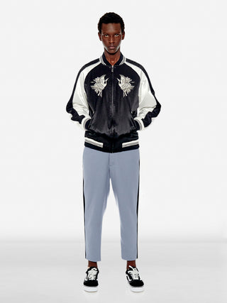 Flying phoenix sporty bomber jacket