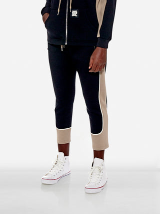 Utility colourblock jogging trousers