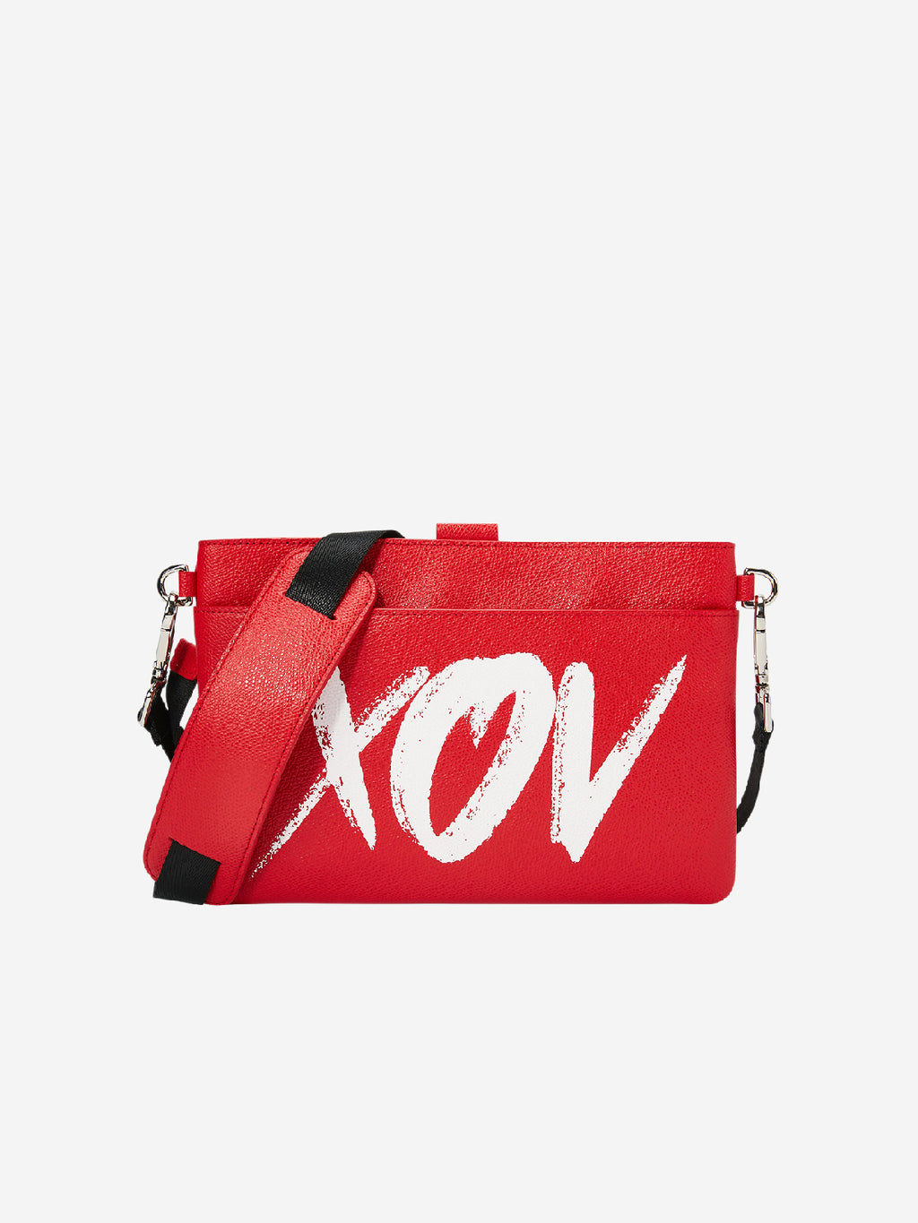 XOV Red Mini Strap Cross Body Bag