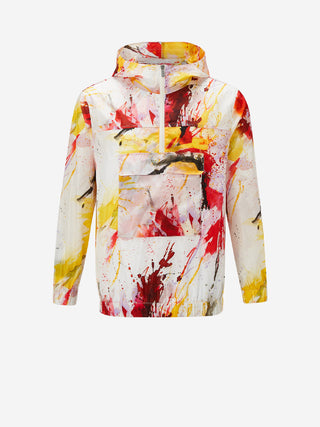 XOV Paint Splatter Windbreaker