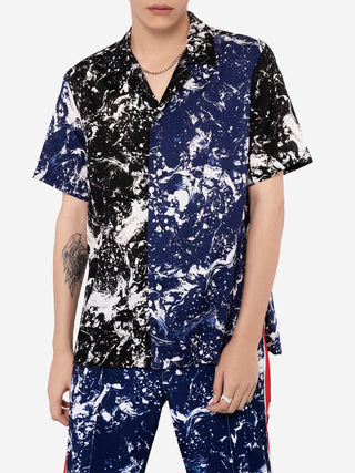 Marbling Short Sleeve Shirt
