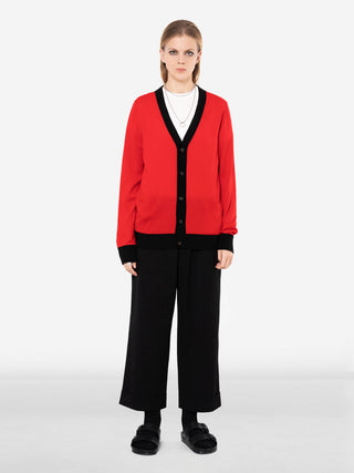 XOV Long Sleeve Bicolor Cardigan
