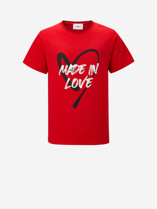 """Made In Love"" Logo T-Shirt"