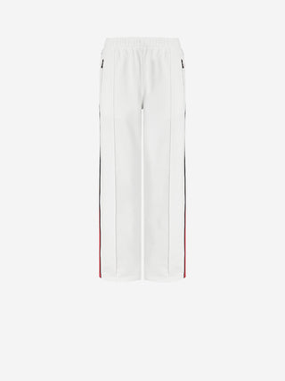 Side Stripe Elastic Waist Knit Pant
