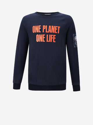 ONE PLANET ONE LIFE Logo Sweatshirt