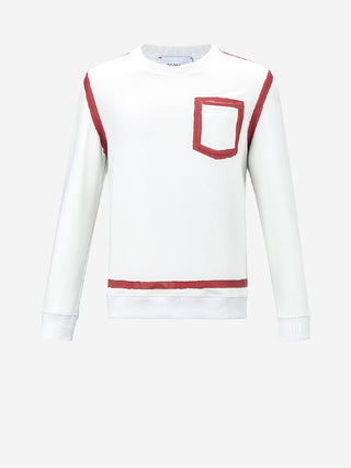 Painted Square Sweatshirt