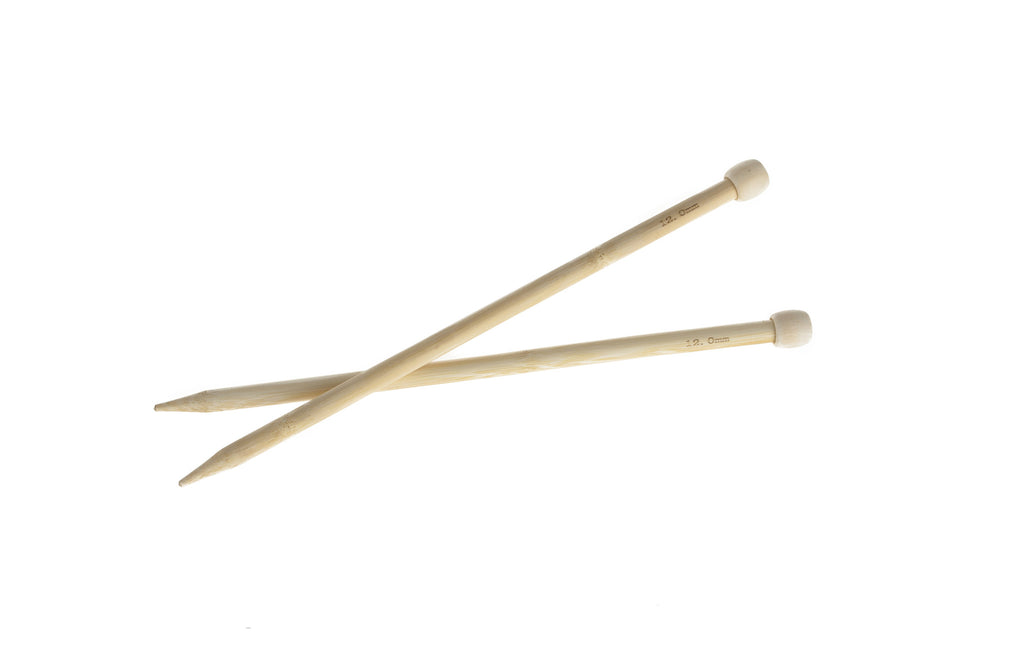 12mm Bamboo Knitting Needles
