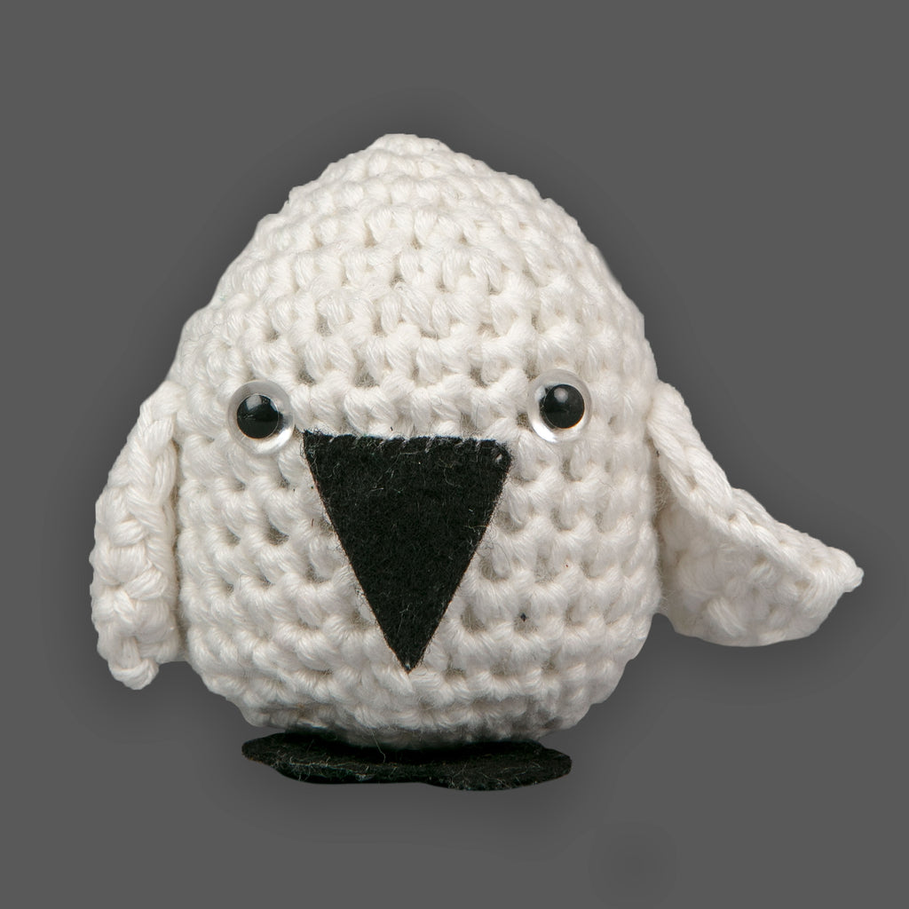SAMPLE SALE Mini Cotton Birdy shaker